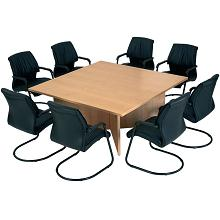 Modular And Oval Boardroom Conference Tables - Square conference room table